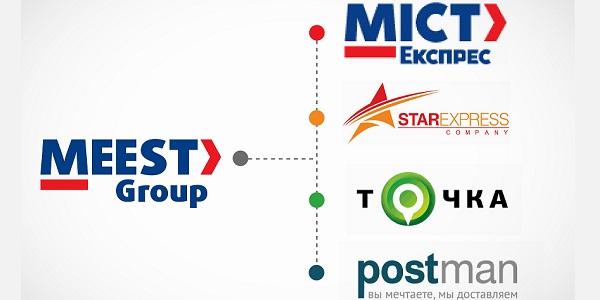 МИСТ Экспресс, Postman, Точка и Стар Экспресс объединились в почтово-логистическом портфеле Meest Group